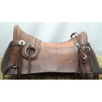 Sela Arreio Pantaneiro Inox - Assento Cavalo Duravel Ref-143