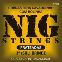 Encordoamento Cavaco 011 Nig N-450 - 000393
