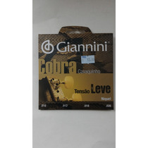 Encordoamento Giannini De Cavaco 010 Tensão Leve