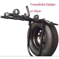 Transbike Puso N Estepe C/ Alças Rack Suporte Bicicleta Bike