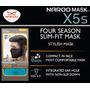 Mascara Naroo Mask X5s Skull Slim Fit Preto