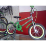 Bicicleta Aro 16 Cromada Aros Aeros Ben10
