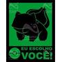 Placa Eu Escolho Você - Verde Legião Nerd
