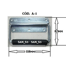 Ferragens Para Case Alça Externa Metal Zincado (sem Mola)