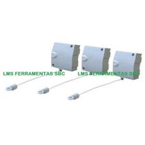 Varal Modular Recolhe Automático - 3 Pçs Com 4,8m Cada