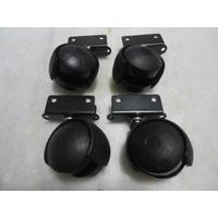 4 Preçorodizio Tipo U Para Berço-comodas-escrivaninhas Preto