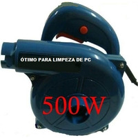Soprador De Ar E Aspirador De Pó Comp Profield 500w - 220 V