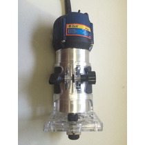 Tupia Fresa Manual 6mm 650 Watts - 32.000 Rpm - 220v - Metal