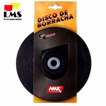 Disco De Borracha Flexível 7 Polegadas Max Ferramentas 4770