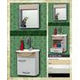 Gabinete Toucador P/ Banheiro Pia/espelho Mdf + Chapadura