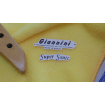 Giannini Supersonic - Decal Do Headstock Para Restauração