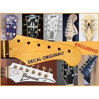 Decal Para Headstock - Original - São 60 Modelos. Exclusivo!