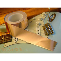 Fita Adesiva Cobre 5cmx1m Importada Blindagem Guitarra Baixo