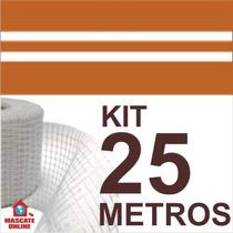 Kit Fita Elétrica 3 Pistas - 25 Metros. Eletrofitas
