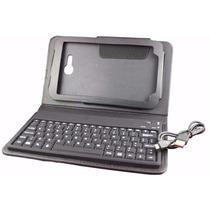 Capa Case Teclado P/ Samsung Galaxy Tab 3 Lite 7 T110 T111