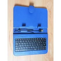 Capa Com Teclado Para Tablet Genesis Bak Foston 7 Polegadas