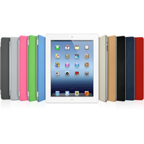 Kit Smart Cover Ipad Mini + Tampa Traseira/pelicula /caneta