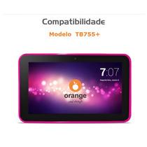 Capa Para Tablet Orange Tb755 Em Silicone Várias Cores