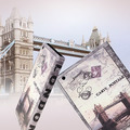 Capa Case Retro Londres Para Apple Ipad 2, 3 E 4 / New Ipad