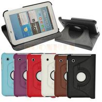 Capa Case Couro 360º Tablet Samsung Galaxy Tab P3100 P3110