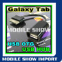 Cabo Adaptador Usb Host Otg Samsung Galaxy Tab P7300 P7310