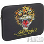 Capa Para Ipad Tablet Notebook 10 Ipad Preto Case Ed Hardy