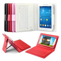 Capa Case Teclado Bluetooth Samsung Galaxy Tab3 7 + Película