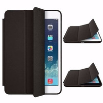 Capa Smart Cover Apple Ipad Air 2 Case Couro Luxo + Película