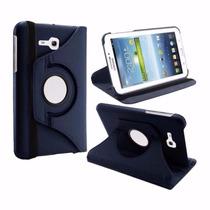 Capa Giratória Couro Tablet Samsung Galaxy Tab3 7 Lite T113