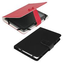 Capa Universal Couro Tablet 7 Asus Bak Coby Foston Genesis