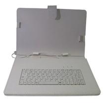 Capa Case + Teclado Usb Universal + Caneta Tablet 10 E 10.1