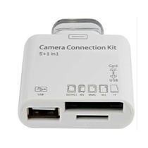 Leitor De Ipad Usb Sd Adaptador Camera Connection Kit