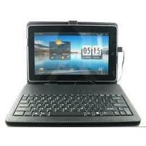 Capa C/teclado Tablet + Película Sansung Cce
