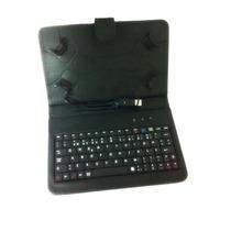 Capa Tablet C/ Ganchos E Teclado Usb Abnt 2 Frete Grátis