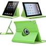 Capa Couro Giratória 360° Tablet Apple Ipad 2 3 4 + Película