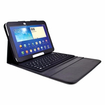 Capa Case Teclado Bluetooth 10.1 Tablet Samsung Galaxy Tab 3