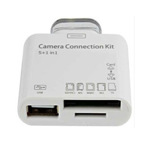 Adaptador Leitor De Ipad 1 2 3 Usb Sd Camera Connection Kit