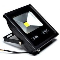 Refletor De Led Holofote Branco Frio 30w Bivolt Ip65