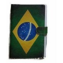 Capa Case C/ Teclado + Caneta P/ Tablet 7 Pol. Brasil