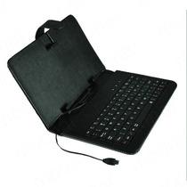 Capa Case Com Teclado Usb Para Tablet 7 Polegadas