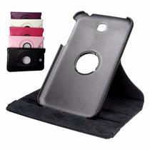 Capa Gira Tablet Samsung Galaxy Tab3 7 T110 + Película Vidro