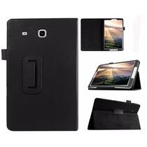 Capa Case + Pelicula Vidro Tablet Galaxy Tab E T560 T561 9.6