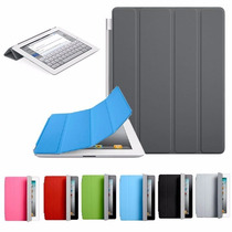 Kit Smart Cover New Ipad 6 Air 2 +super Capa Tampa Traseira