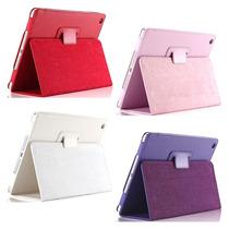 Capa Case Couro Tablet Apple Ipad 2 3 4 + Pelicula De Vidro