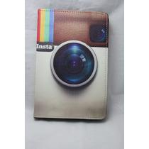 Capa Case Capinha Tablete Universal Até 8 Polegas Instagram