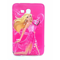 Capa Tablet Samsung Galaxy Tab 3 Lite T110 T111 T113 Barbie