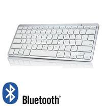 Teclado Bluetooth Portátil Celular Ou Tablet Hp Padrão Mac