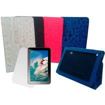 Capa Case Tablet Cce 9 Tr91 Tr92 Cute + Pelicula De Vidro