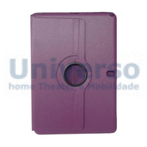 Capa Giratória 360º Roxa Tablet Samsung Galaxy Note Pró 12.2