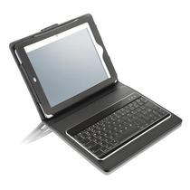 Teclado Mini Slim Multilaser Bluetooth Com Capa Para Ipad Mi